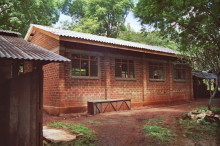 HRDU - Werkstattgebäude aus Lehmziegeln, 1987