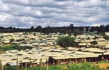 Kibari, ein Slum bei Nairobi, 1987