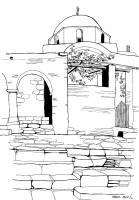 Kirche auf Paros, 1964