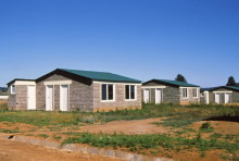 Wohnungsbauprojekt in Nyahururu, 1988