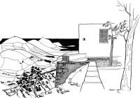 Die Eremitenklause auf Paros,1964