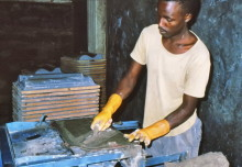 FCR Produktion in Muranga, 1989