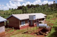 Musterhaus im YP Kangema, 1989