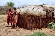 Typische Samburu Shamba, 1990