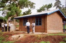 Musterhaus in Kapsabet, 1992