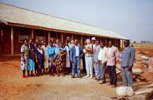 Übergabe der Schule in Eldoret, 1993