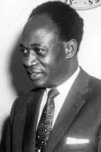 Präsident Kwame Nkrumah, 1961