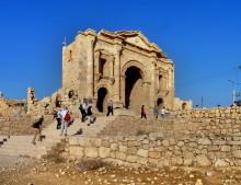 Hadrian Bogen in Gerasa