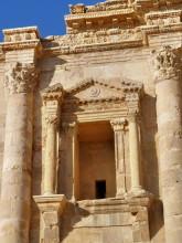 Säulendetails vom Hadrian Bogen