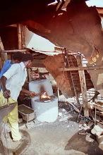 Schmieden in Suame, Kumasi, 1987
