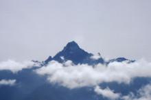 Bergblick aus dem Flugzeug, 1992