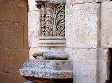 Säulenfuß am Zeustempel