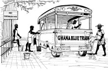 ghana blue train