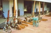 Metallwerkstatt, ITTU in Tamale, 1989