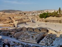 Zeus Tempel und Forum