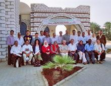 Gruppenfoto, BASIN ABT Kurs in Ägypten, 1996