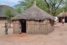 Traditionelle Ombili Häuser, November 2004