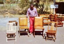 Dorftischlerei, Möbelbau im RIIC, 1986