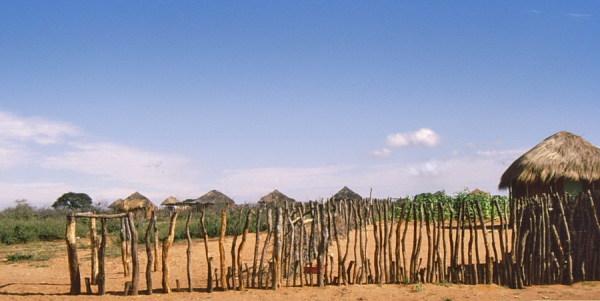 Unterwegs in Botswana nach Segeng, 1988