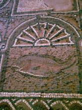 Mosaikboden der Byzantinischen Kirche