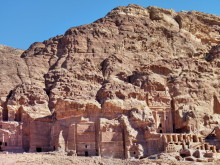 Königsgräber im Jebel el-Khubtha