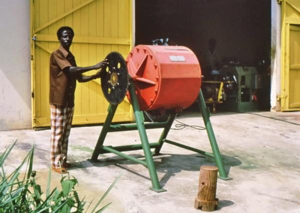 Kugelmühle für Dabaah, 1987