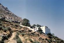 Zur Eremitenklause, Paros, Juni 1964