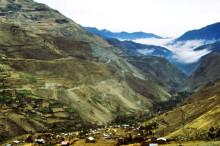 Hochtal in den Anden