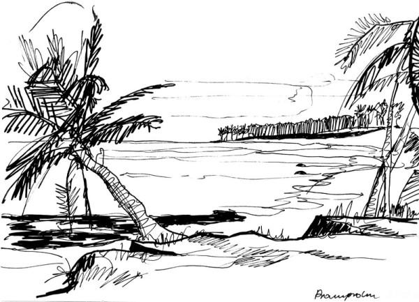 Küste bei Prampram