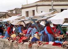 Fleischmarkt in Latacunga