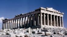 Der Parthenon Tempel auf der Akropolis
