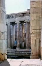Der Nike Tempel auf der Akropolis