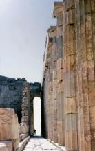 Säulen im Parthenon