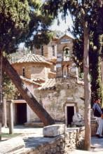Kloster Kessariani am Hymettos im August 1962