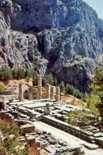Apollo Tempel in Delphi