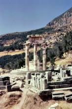 Pronaia Marmaria, Heiligtum der Athene in Delphi