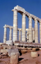 Der Poseidon Tempel in Sounion