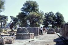 Tempel des Zeus in Olympia