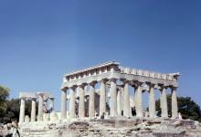 Der Aphea Tempel auf Ägina