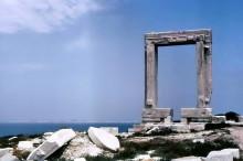 Tor zum Apollo Tempel, Naxos, Juli 1964