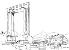 Naxos, Tor zum Apollo Tempel