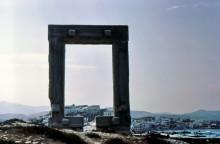 Tor des Apollo Tempels auf Naxos