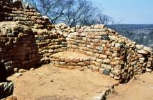 Alte Wohnstätte in Khami