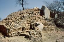 Ruinen des alten Palastes in Khami