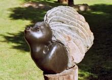 African girl - von Mugavazi, 1993