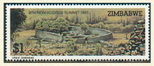 Groß-Zimbabwe, Briefmarke, 1986