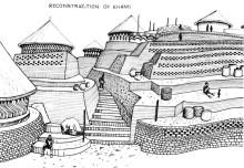 Rekonstruktion von Khami (nach Peter Garlake)