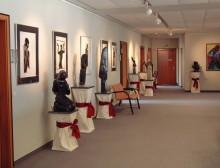 Shona Skulpturen Ausstellung, Sebnitz, 26.8.04