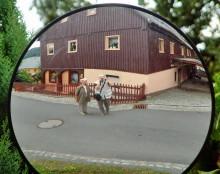 Spiegelung unterwegs