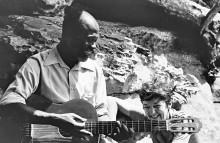 Koo Nimo und Valerie Sackey im Mai 1980